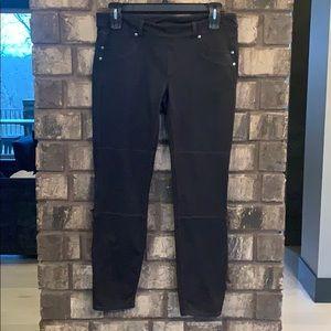 EUC ATHLETA Bettona Jegging Black Pants Sz.XL long